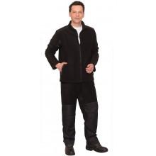 """Костюм флисовый """"FITSYSTEM"""" куртка, брюки с отделкой дюспо"""