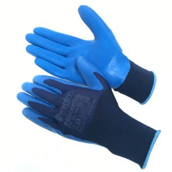 Нейлоновые перчатки со штампованным латексным покрытием Rocks