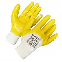 Gward Lite три четверти Премиум-нитриловые перчатки, покрытые в три четверти