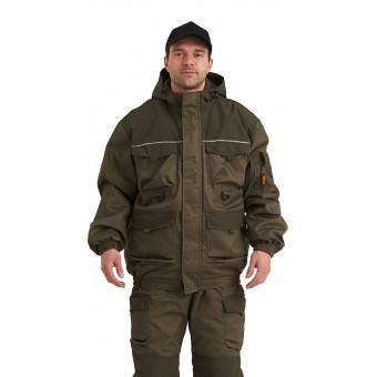 Костюм демисезонный БАРС-ВЕСНА/ОСЕНЬ куртка/брюки, цвет: Хаки/т.хаки, ткань