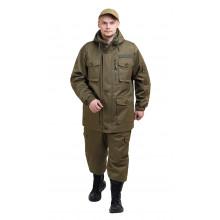 Костюм демисезонный СУМРАК-ВЕСНА/ОСЕНЬ куртка/брюки цвет: Хаки, тк.Мембрана