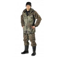 Костюм демисезонный ГЕРКОН-ВЕСНА/ОСЕНЬ куртка/брюки цвет: кмф Смог/хаки, ткань: Алова