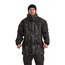 Костюм демисезонный ГЕРКОН-ВЕСНА/ОСЕНЬ куртка/брюки цвет: кмф Цифра Форест/т.серый, ткань: Алова