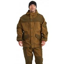 Костюм демисезонный  ГОРКА  куртка/брюки, цвет: св.хаки/т.хаки, ткань: Полибрезент