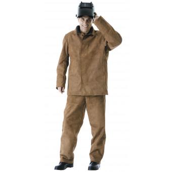 Костюм сварщика: куртка, брюки цельноспилковый
